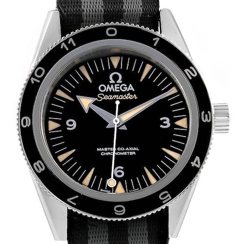 Photo of Omega Seamaster 300 Spectre LE Watch 233.32.41.21.01.001 Box Papers