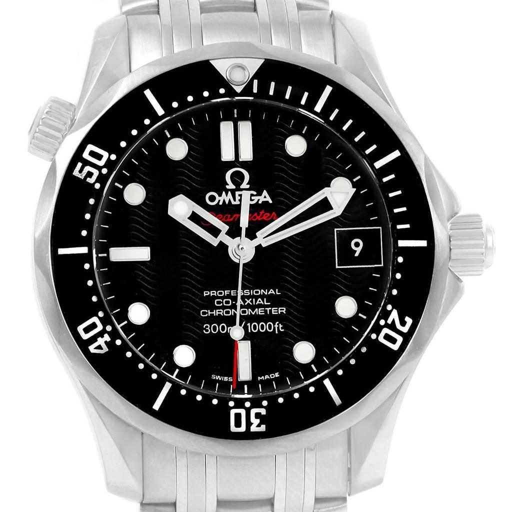 18648 Omega Seamaster James Bond Steel Mens Watch 212.30.41.20.01.002 SwissWatchExpo