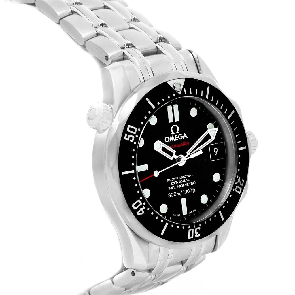18648 Omega Seamaster James Bond Steel Mens Watch 212.30.41.20.01.002 SwissWatchExpo