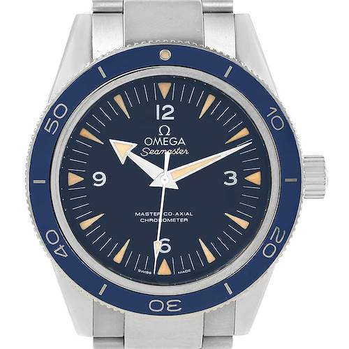 Photo of Omega Seamaster 300 Titanium Watch 233.90.41.21.03.001 Box Card