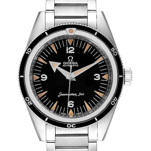 Photo of Omega Seamaster 300 The 1957 Trilogy Limited Watch 234.10.39.20.01.001 Box Card