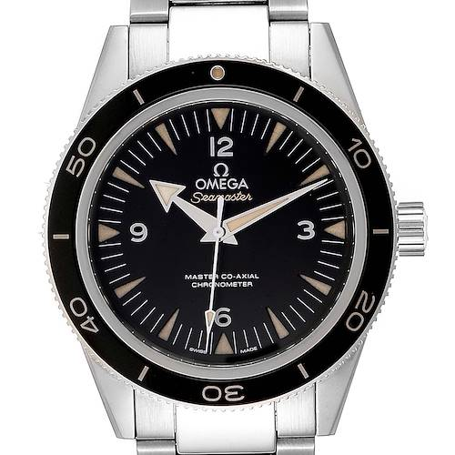 Photo of Omega Seamaster 300 Master Black Dial Steel Mens Watch 233.30.41.21.01.001