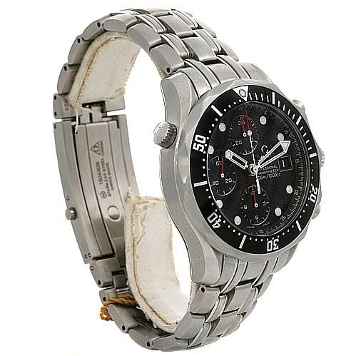 2394 Omega Seamaster 300m Chrono New Men 21330424001001 Watch SwissWatchExpo