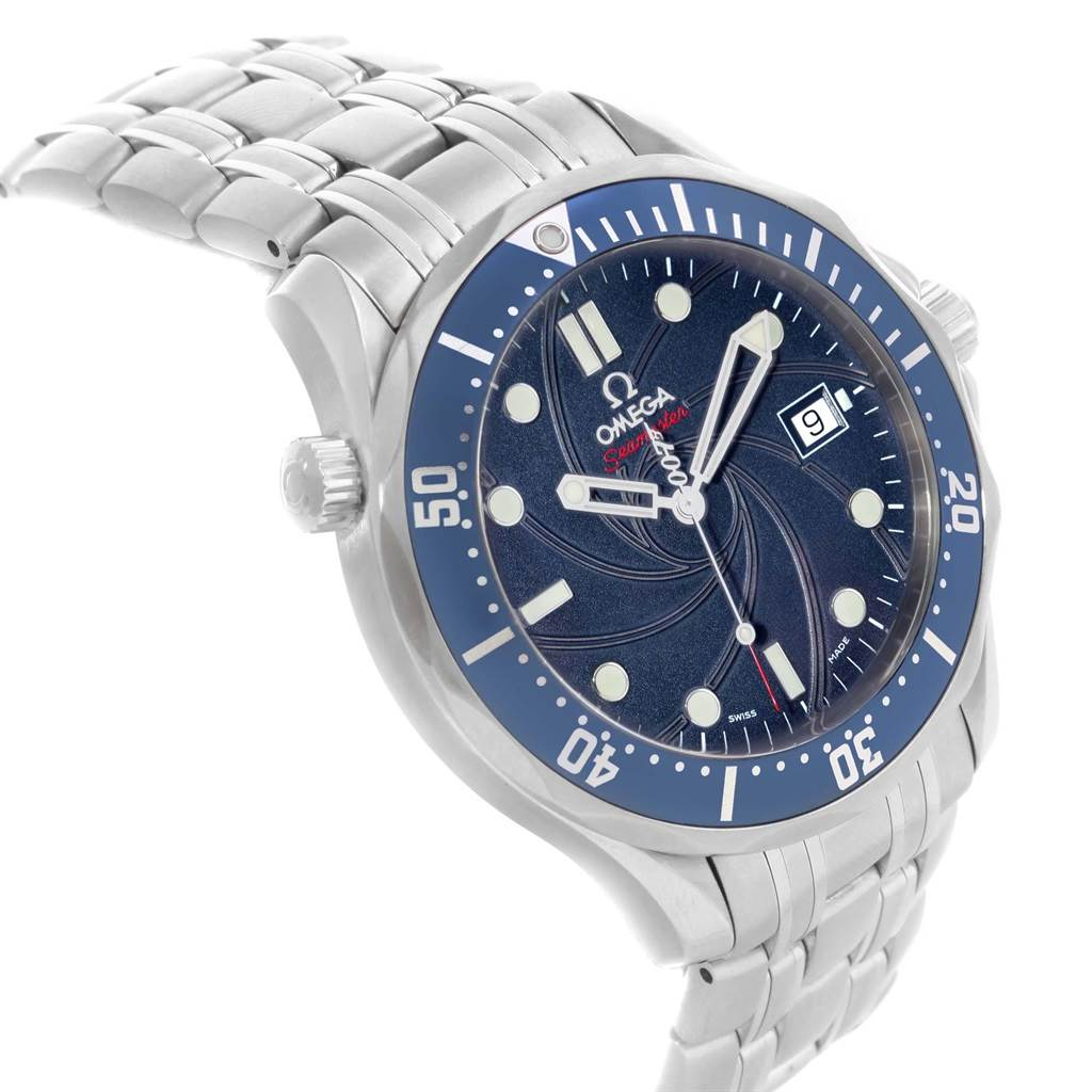 20926 Omega Seamaster Bond 007 Limited Edition Steel Watch 2226.80.00 SwissWatchExpo