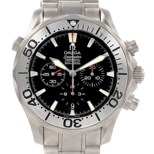 Photo of Omega Seamaster 300M Diver Chronograph Titanium Mens Watch 2293.52.00