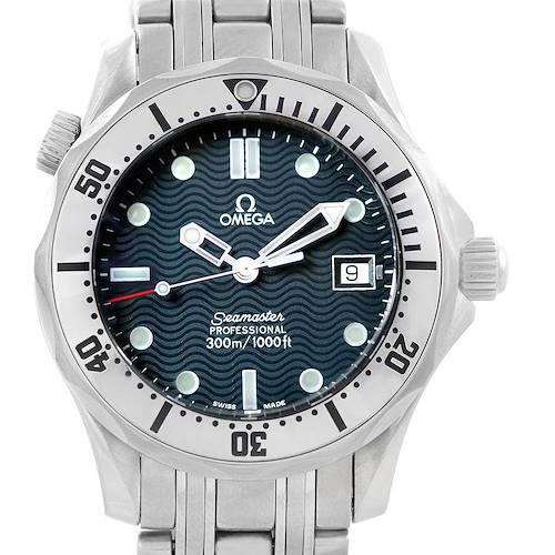 Photo of Omega Seamaster Steel Midsize 300 m Mens Watch 2562.80.00 Card