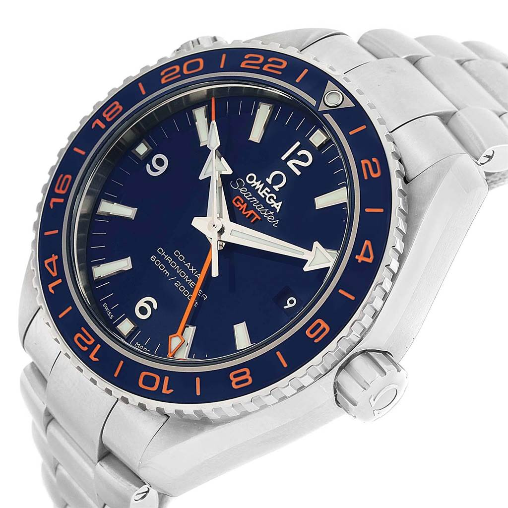 21075 Omega Seamaster Planet Ocean GMT GoodPlanet Watch 232.30.44.22.03.001 SwissWatchExpo