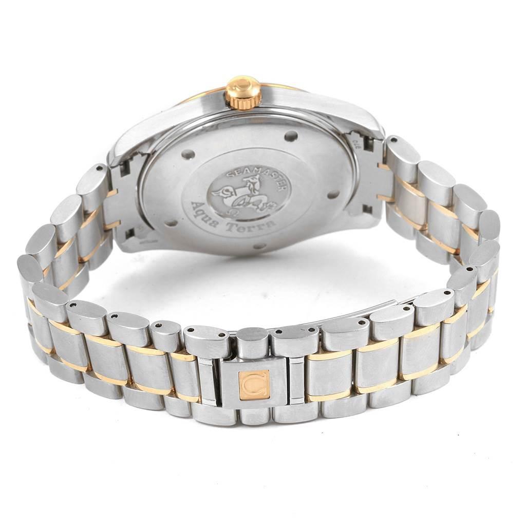 21301 Omega Seamaster Aqua Terra 150M Steel Yellow Gold Watch 2317.30.00 SwissWatchExpo