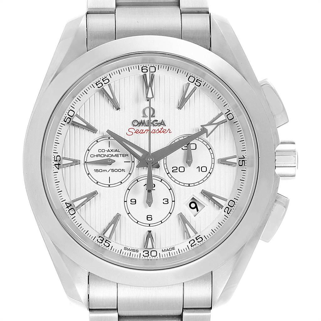 22004 Omega Seamaster Aqua Terra Chrono Watch 231.10.44.50.04.001 Box Card SwissWatchExpo