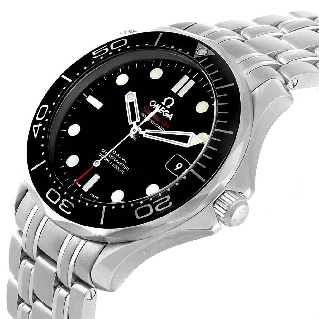22029 Omega Seamaster 40 Co-Axial Mens Watch 212.30.41.20.01.003 Box Card SwissWatchExpo