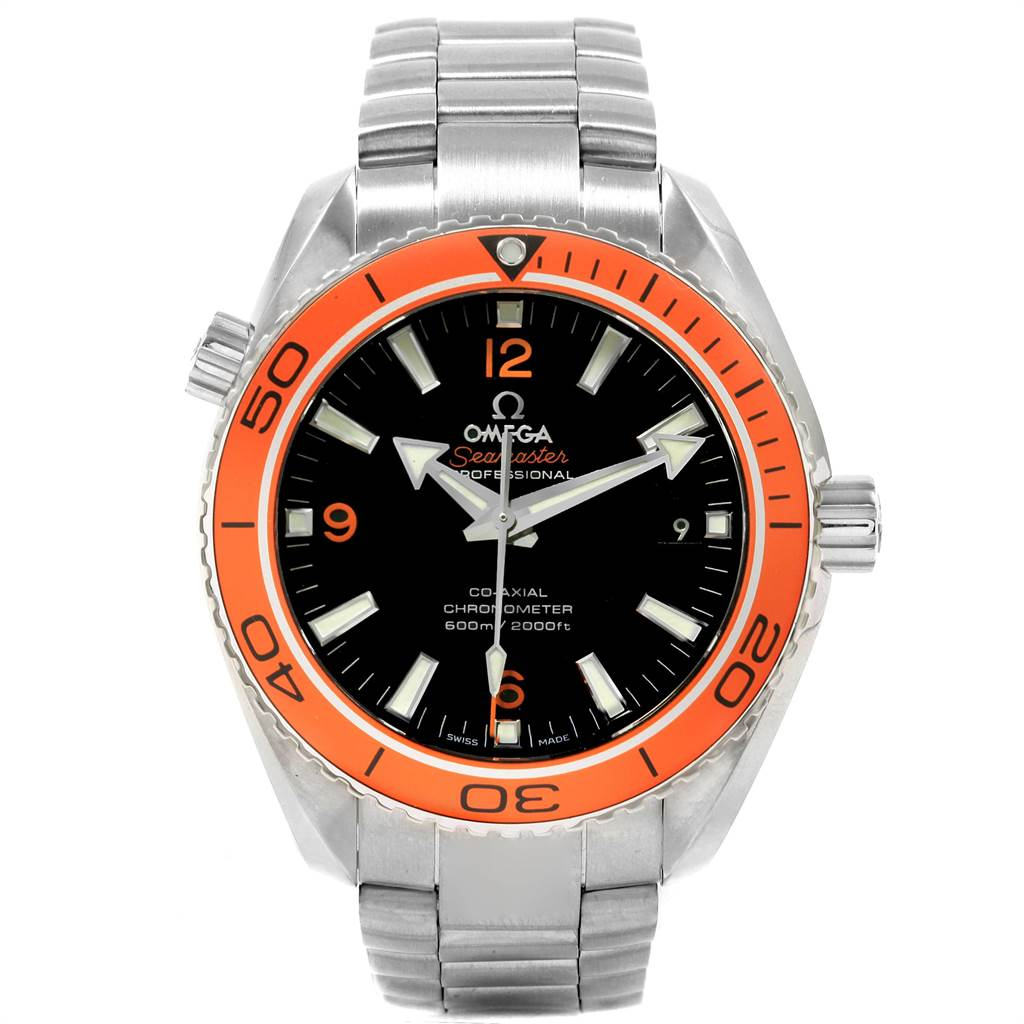 22324 Omega Seamaster Planet Ocean 45 mm Mens Watch 232.30.46.21.01.002 SwissWatchExpo