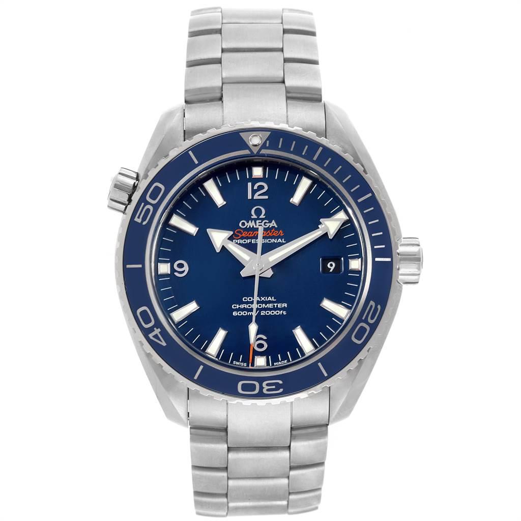 22472 Omega Seamaster Planet Ocean Titanium Watch 232.90.46.21.03.001 SwissWatchExpo