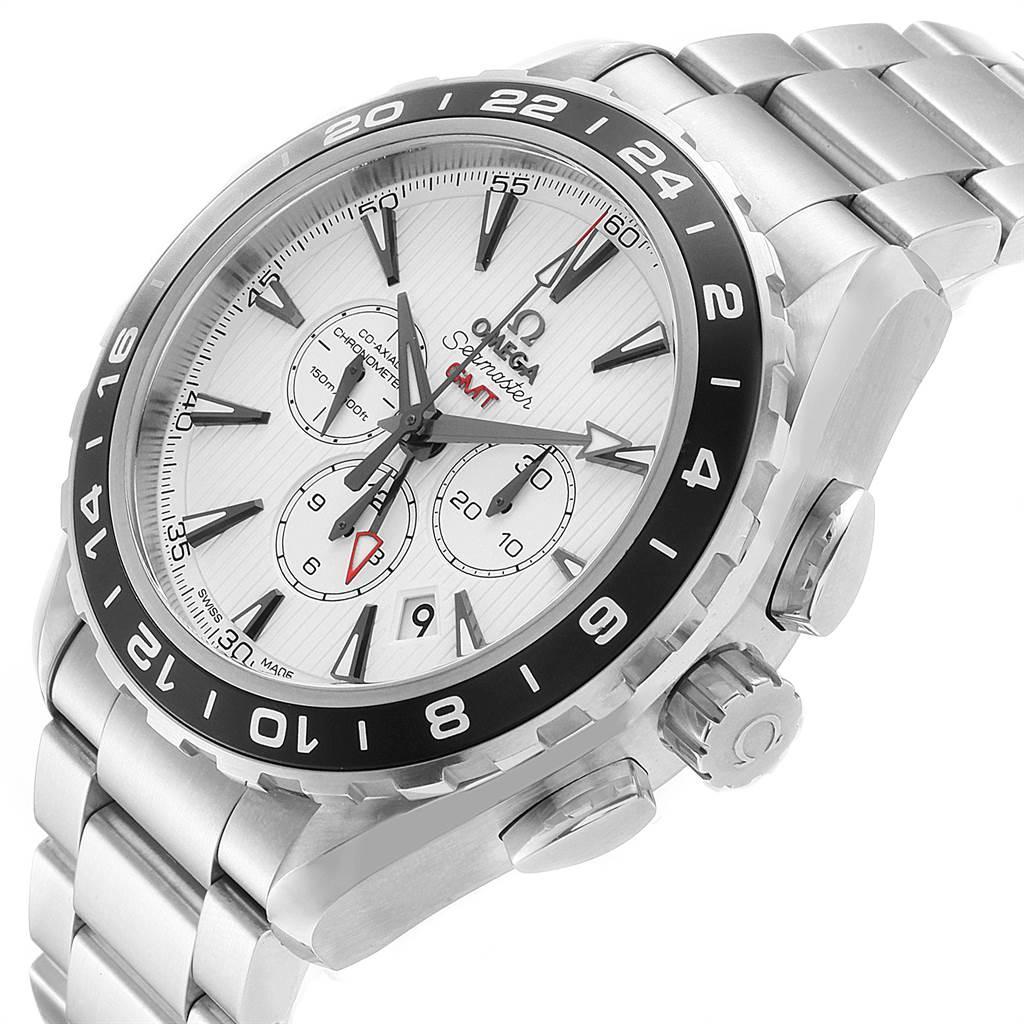 22592 Omega Seamaster Aqua Terra GMT Watch 231.10.44.52.04.001 Box Card SwissWatchExpo