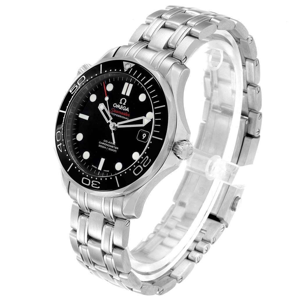 21801 Omega Seamaster 40 Co-Axial Mens Watch 212.30.41.20.01.003 Card SwissWatchExpo