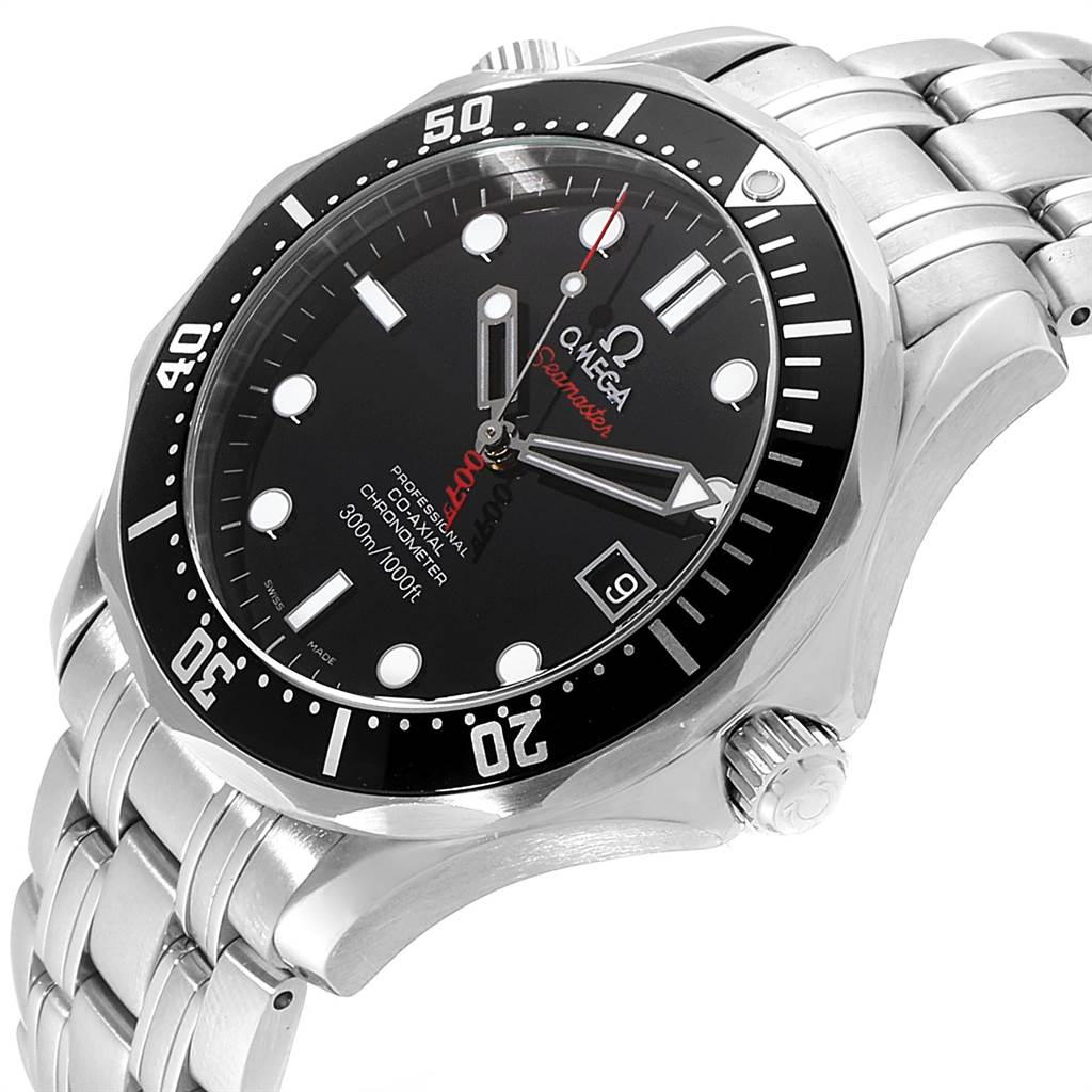 23055 Omega Seamaster Bond 007 Limited Edition Watch 212.30.41.20.01.001 SwissWatchExpo
