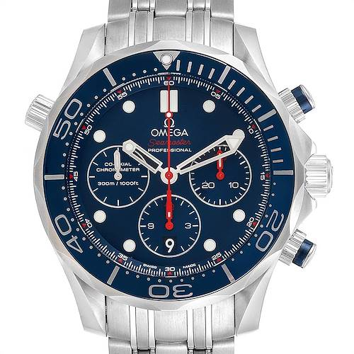Photo of Omega Seamaster Diver 300M 44mm Watch 212.30.44.50.03.001 Box Card