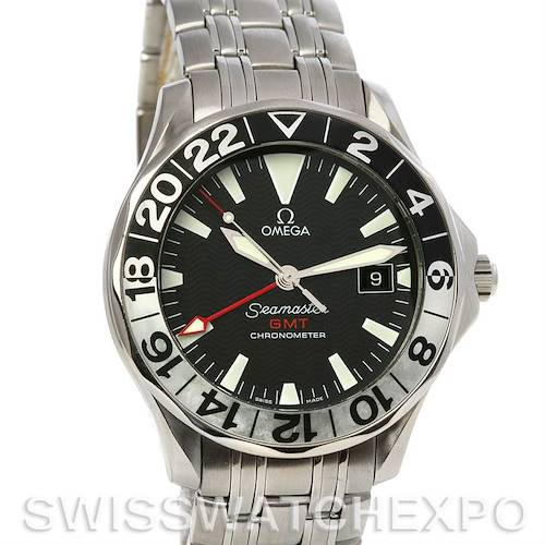 Photo of Omega Seamaster GMT Mens Watch 2534.50.00 Watch