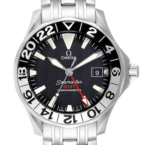 Photo of Omega Seamaster GMT 50th Anniversary Steel Mens Watch 2234.50.00 Card