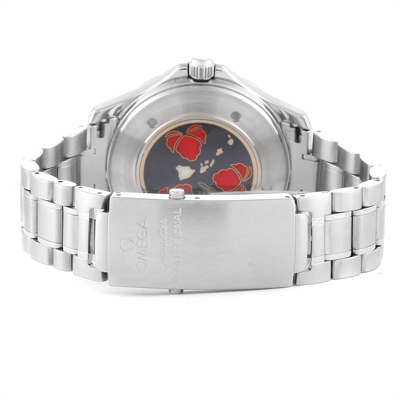 Omega Seamaster GMT Gerry Lopez Limited Edition Mens Watch 2536.50.00 SwissWatchExpo