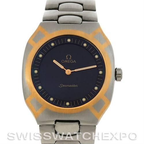 Photo of Omega  Seamaster Digital Steel & Gold Watch