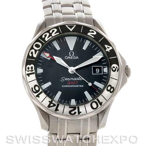 Photo of Omega Seamaster GMT Mens Watch 2534.50.00