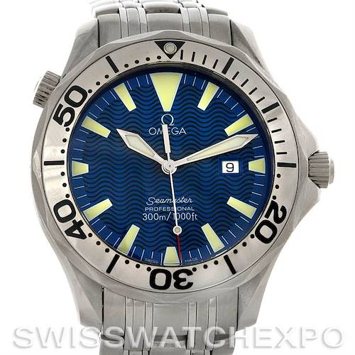 Photo of Omega Seamaster Stainless Steel Men's James Bond Watch 2065.80