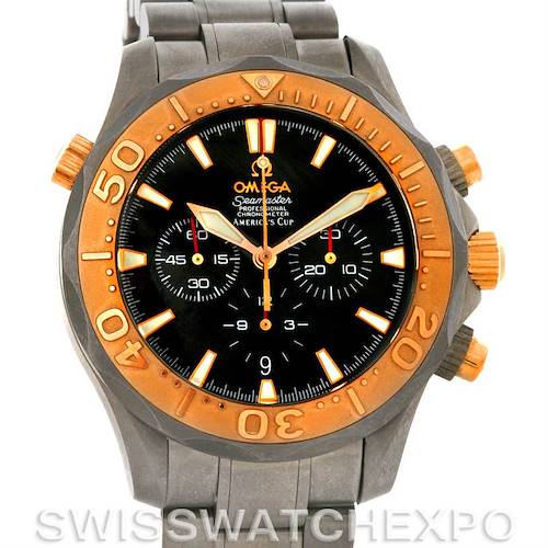 Photo of Omega Seamaster 2294.50.00 Americas Cup Titanium and 18K Rose Gold Watch