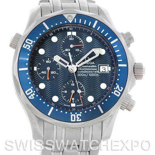Photo of Omega Seamaster Chronograph Automatic Mens Watch 2599.80