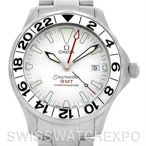 Photo of Omega Seamaster GMT Men's Watch 2538.20.00 Great White