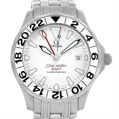 Photo of Omega Seamaster GMT Great White Men's Watch 2538.20.00
