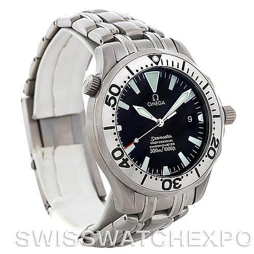 omega seamaster titanium men 39 s watch. Black Bedroom Furniture Sets. Home Design Ideas