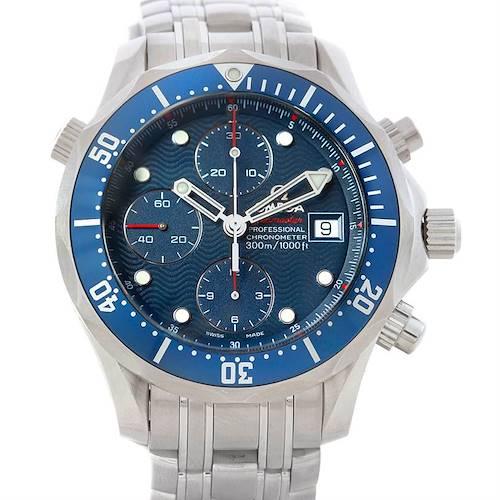 Photo of Omega Seamaster Chronograph Autiomatic Mens Watch 2225.80.00