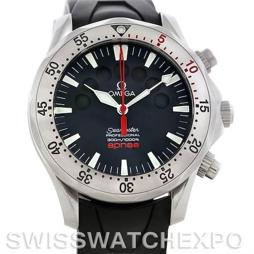 Photo of Omega Seamaster Apnea Jacques Mayol Watch