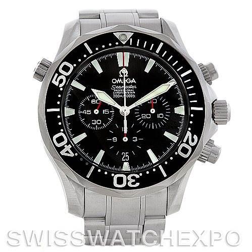 5775 Omega Seamaster Professional Automatic 2594.52.00 Chronograph Watch SwissWatchExpo