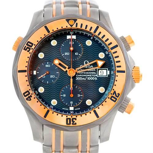 Photo of Omega Seamaster Titanium and 18K Rose Gold Watch 2296.80.00