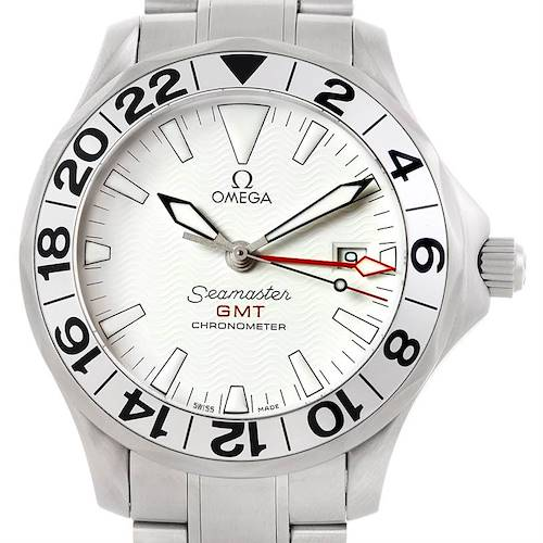 Photo of Omega Seamaster GMT Great White Mens Watch 2538.20.00
