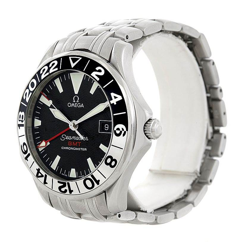 6651 Omega Seamaster GMT Autiomatic Mens Watch 2234.50.00 SwissWatchExpo