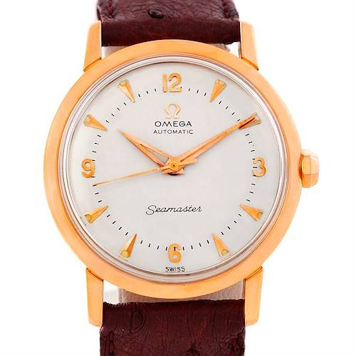 Photo of Omega Seamaster Vintage 18K Rose Gold Watch 315.164