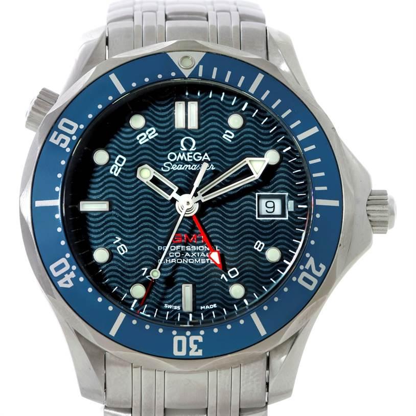Omega Seamaster James Bond 300m Gmt Watch 2535 80 00