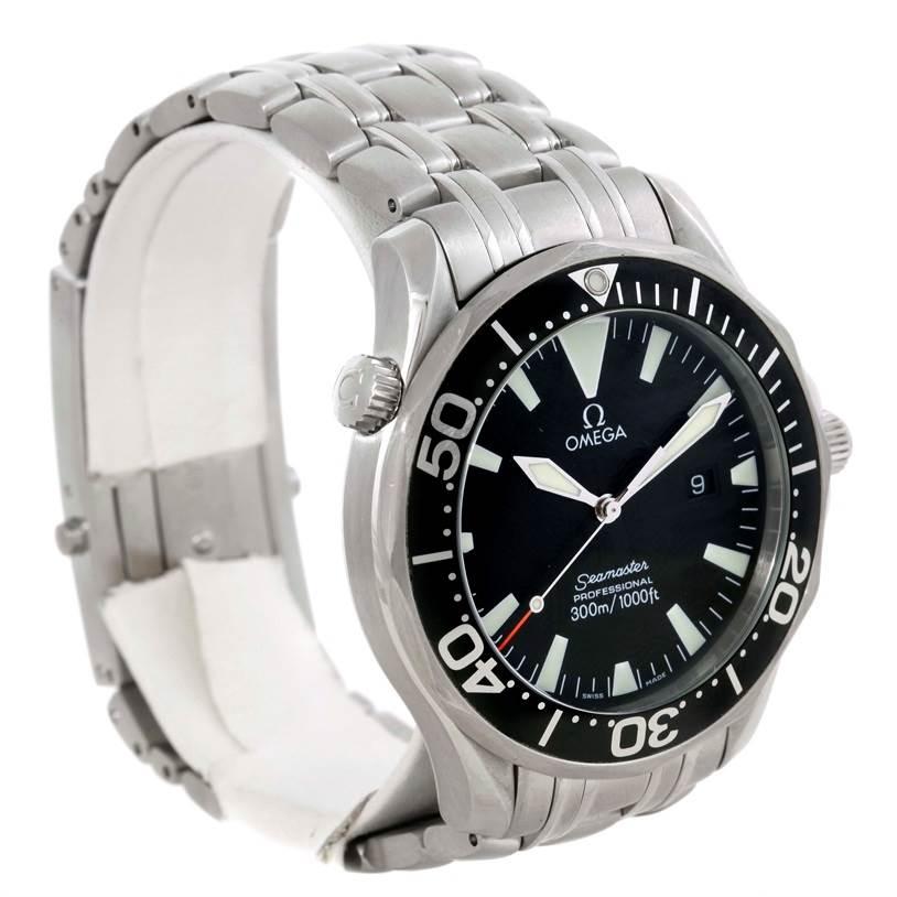 Omega Seamaster Professional 300m Black Dial Quartz Watch