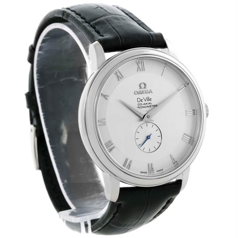 feeeb2a1b6b56 ... 10505 Omega DeVille Prestige Co-Axial Small Seconds Mens Watch  4813.30.01 SwissWatchExpo ...