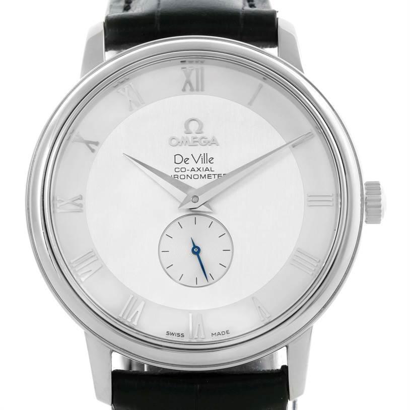 599c6e1e8d8a ... 10505 Omega DeVille Prestige Co-Axial Small Seconds Mens Watch  4813.30.01 SwissWatchExpo ...