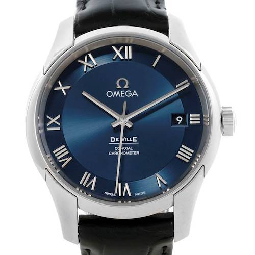 Photo of Omega DeVille Hour Vision Blue Dial Mens Watch 431.13.41.21.03.001