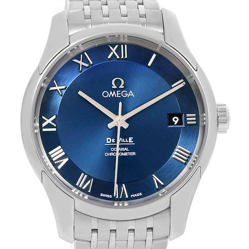 Photo of Omega DeVille Co-Axial 41mm Blue Dial Watch 431.10.41.21.03.001