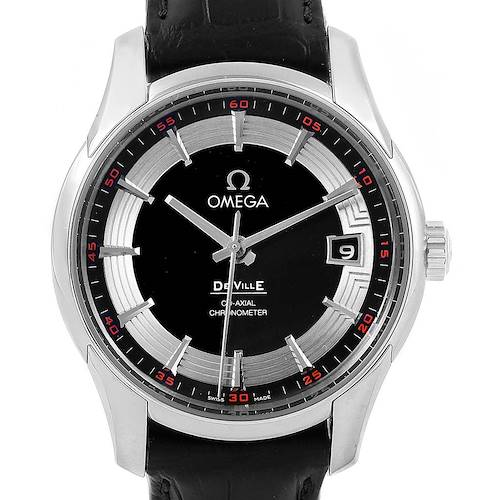 Photo of Omega DeVille Hour Vision Black Dial Mens Watch 431.33.41.21.01.001