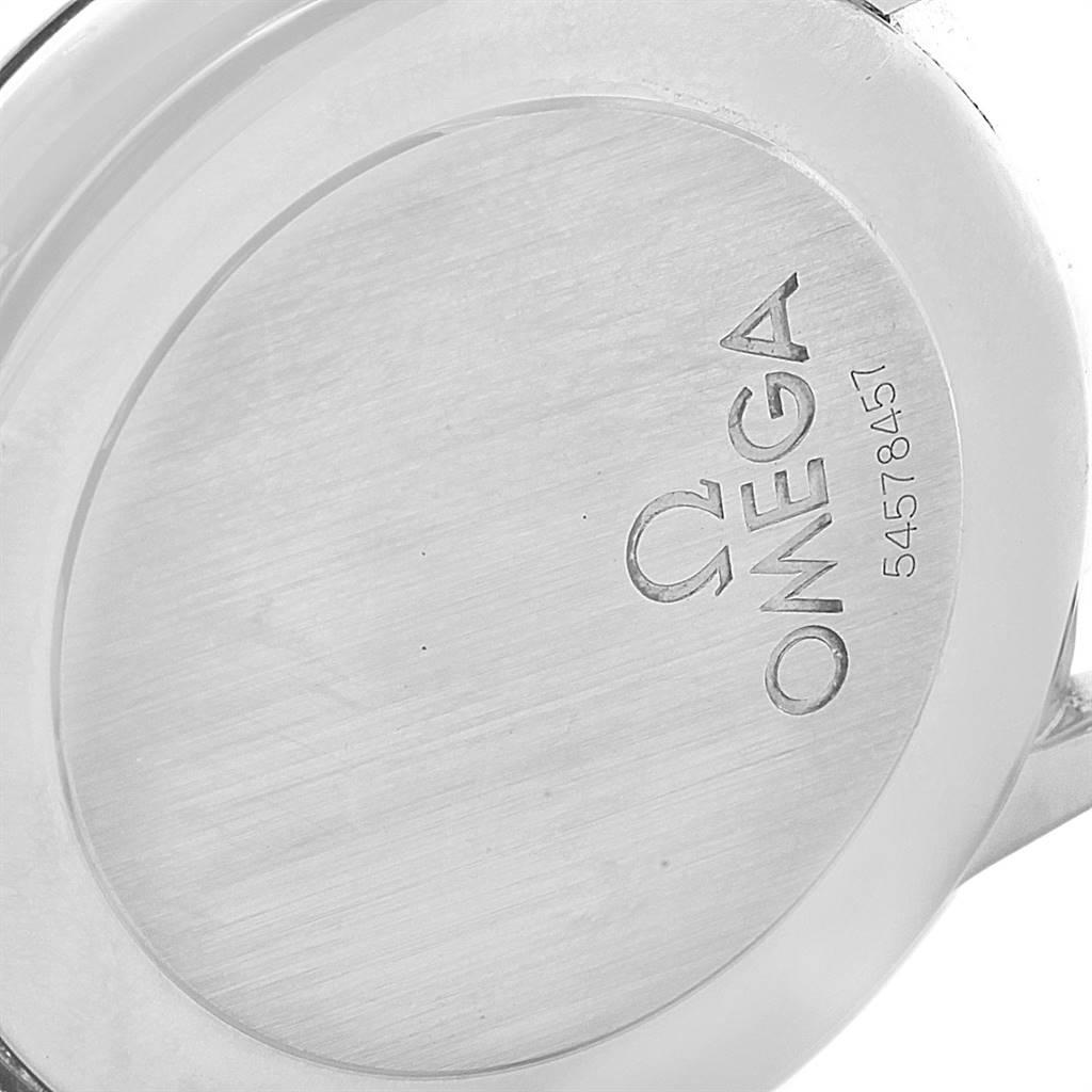 Omega DeVille Prestige Small Seconds Steel Mens Watch 4820.31.01 Card SwissWatchExpo