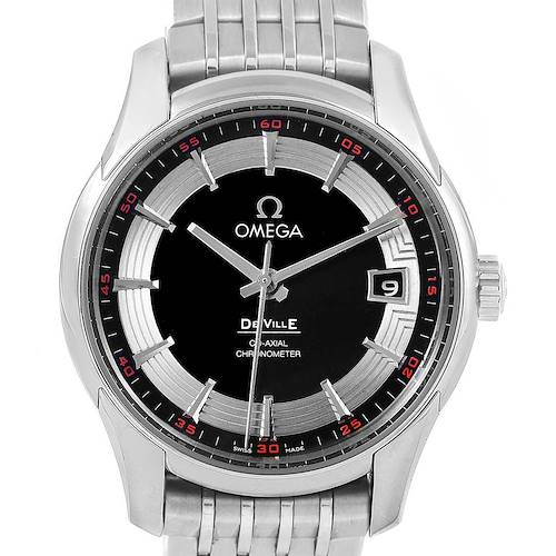 Photo of Omega DeVille Hour Vision Mens Watch 431.30.41.21.01.001 Box Card