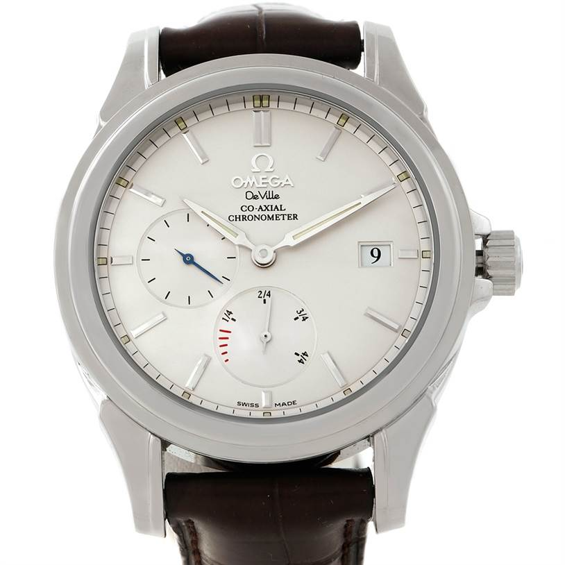 bbd8baf6f94af 7846 Omega De Ville Co-Axial Power Reserve Mens Watch 4832.31.32  SwissWatchExpo