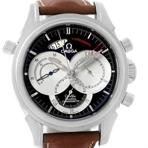 Photo of Omega DeVille Chronoscope Rattrapante Split Second Watch 4847.50.31