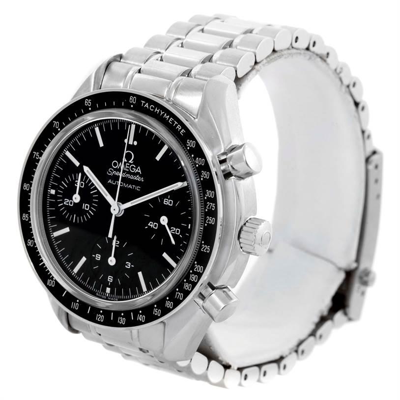 omega speedmaster reduced mens sapphire crystal watch 3539. Black Bedroom Furniture Sets. Home Design Ideas
